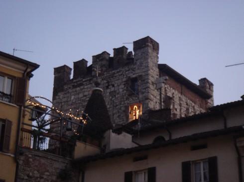 Torre Porta Bruciata, Brescia, Lombardia, Nord-Italia, Italia
