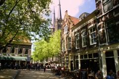 Beestenmarkt, Delft, Zuid-Holland, Sør-Nederland, Nederland
