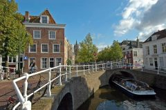 Kanal, Delft, Zuid-Holland, Sør-Nederland, Nederland