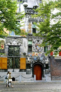 Gemeentelandshuys, flamboyant, Delft, Zuid-Holland, Sør-Nederland, Nederland