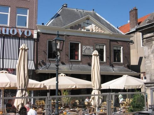 Vekthuset De Waag, Delft, Zuid-Holland, Sør-Nederland, Nederland