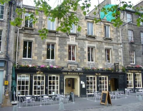 The Beehive Inn, Edinburgh, Skottland, Storbritannia
