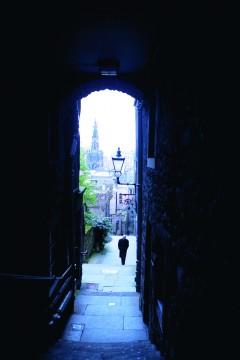 Advocate's Close, Royal Mile, Edinburgh, Skottland, Storbritannia