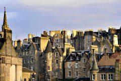Old Town Edinburgh, Skottland, Storbritannia
