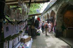 Craft Fair, Princes Street, Edinburgh, Skottland, Storbritannia
