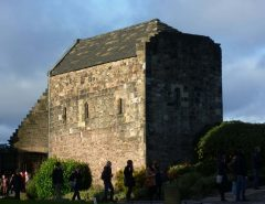 St Margareth's Chapel, Castle Hill, Edinburgh, Skottland, Storbritannia