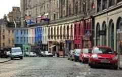 Victoria Street, Edinburgh, Skottland, Storbritannia
