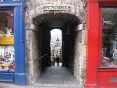 Advocate's Close, The Royal Mile, Edinburgh, Skottland, Storbritannia