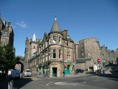 Cowgate, Edinburgh, Skottland, Storbritannia