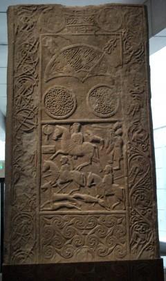 Cadboll Stone, National Museum of Scotland, Edinburgh, Skottland, Storbritannia