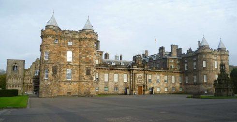 Holyrood Palace, Edinburgh, Skottland, Storbritannia