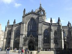 St Giles Cathedral, The Royal Mile, Edinburgh, Skottland, Storbritannia