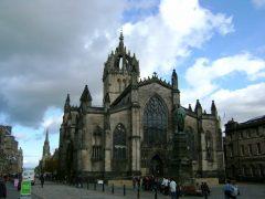St Giles, High Street, Edinburgh, Skottland, Storbritannia