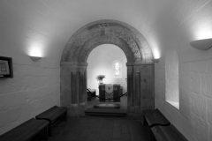 Castle Hill, St Margareth's Chapel, Edinburgh, Skottland, Storbritannia