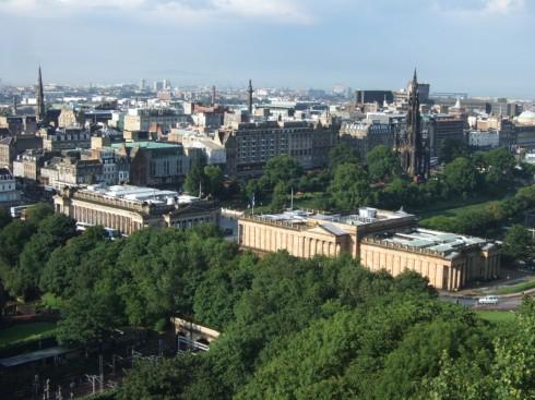 The Mound, Edinburgh, Skottland, Storbritannia