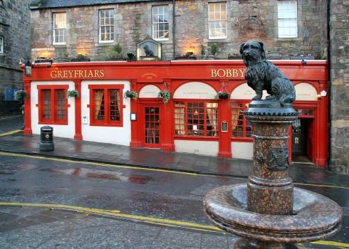 Greyfriars Bobby's Bar, Edinburgh, Skottland, Storbritannia