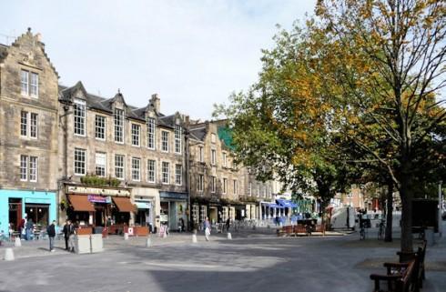 Grassmarket, Edinburgh, Skottland, Storbritannia
