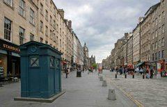 High Street, The Royal Mile, Edinburgh, Skottland, Storbritannia