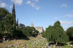Scott Memorial, Edinburgh, Skottland, Storbritannia