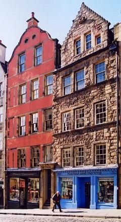 West Bow, Edinburgh, Skottland, Storbritannia