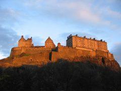 Castle Hil, Edinburgh, Skottland, Storbritannia