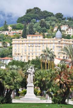 Belle Epoque, arkitektur, Menton, Alpes Maritimes, Provence, Cote d'Azur, Sør-Frankrike, Frankrike