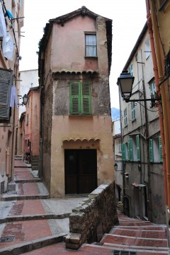 Vieille Ville, Menton, Alpes Maritimes, Provence, Cote d'Azur, Sør-Frankrike, Frankrike