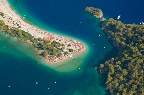 Öludenis Blue Lagoon, Egeerhavskysten, Tyrkia