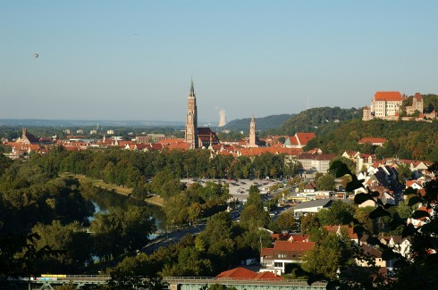 Landshut, Bayern, Sør-Tyskland