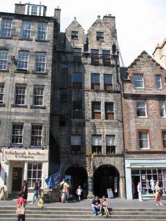 Gladstone's Land, Edinburgh, Skottland, Storbritannia