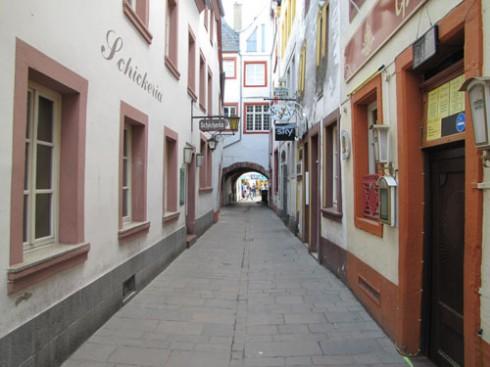 Judengasse, Trier, Vest-Tyskland, Tyskland