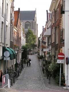 Kloksteeg, Leiden, Zuid-Holland, Sør-Nederland, Nederland