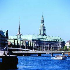 Slotsholmen, Christiansborg, København, Sjælland, Danmark