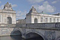 Marmorbroen, Christiansborg, København, Sjælland, Danmark