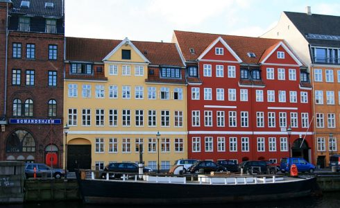Nyhavn, København, Sjælland, Danmark