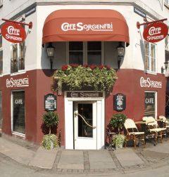 Café Sorgenfri, Strøget, København, Sjælland, Danmark
