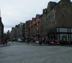 Lawnmarket, Edinburgh, Skottland, Storbritannia