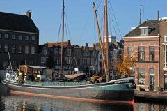 Rijn, kanaler, Leiden, Zuid-Holland, Sør-Nederland, Nederland