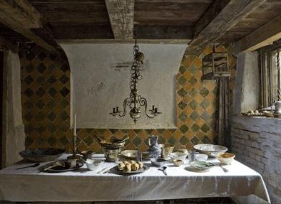 Interiør fra The Leiden American Pilgrim Museum, Leiden, Zuid-Holland, Sør-Nederland, Nederland