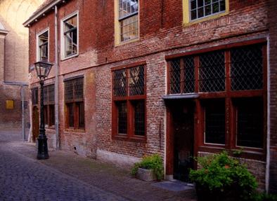 The Leiden American Pilgrim Museum, Leiden, Zuid-Holland, Sør-Nederland, Nederland