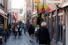 Burgsteeg, Leiden, Zuid-Holland, Sør-Nederland, Nederland