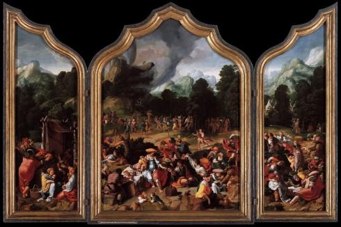 Lucas van Leyden, triptych (tredelt altertavle)