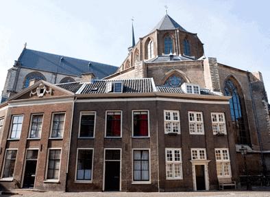 Pieterskerk, Leiden, Zuid-Holland, Sør-Nederland, Nederland