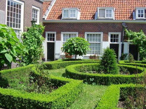 Samuel de Zees hofje, Leiden, Zuid-Holland, Sør-Nederland, Nederland