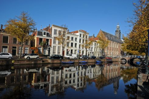 Academiegebow, Rapenburg, Leiden, Zuid-Holland, Sør-Nederland, Nederland