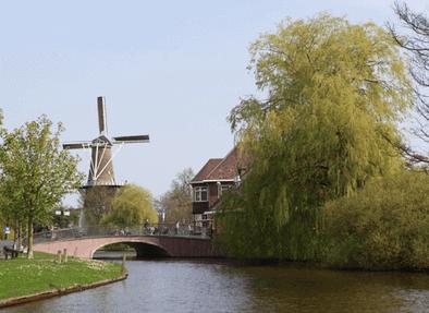 Molen de Valk, Leiden, Zuid-Holland, Sør-Nederland, Nederland