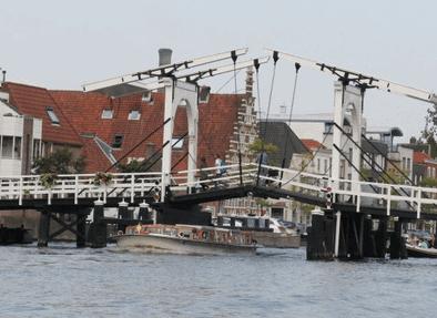 Vindelbro, Leiden, Zuid-Holland, Sør-Nederland, Nederland