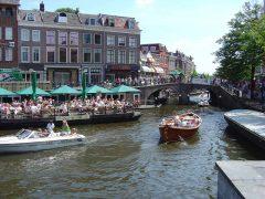 Bootterassen, Leiden, Zuid-Holland, Sør-Nederland, Nederland