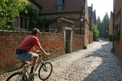 Groot Bégijnhof , Leuven, Flandern, Belgia