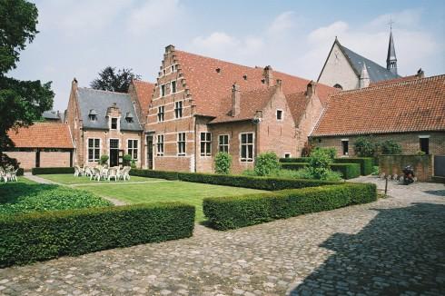 Groot Bégijnhof, Leuven, Flandern, Belgia